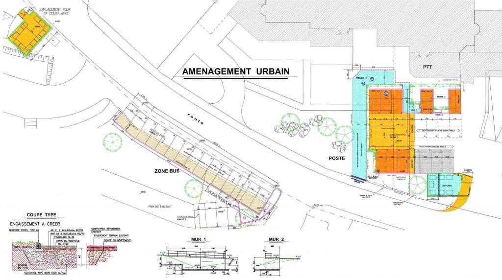plan de la ville : aménagement