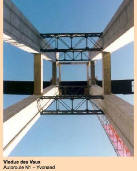 structure de pilastre d'un pont