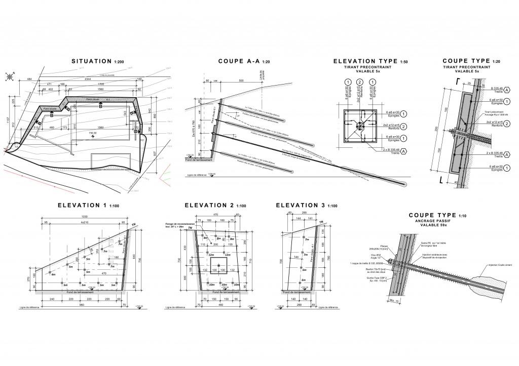 etude de stabilit bureau de g nie civil en suisse. Black Bedroom Furniture Sets. Home Design Ideas