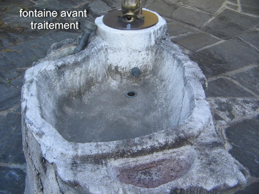 Fontaine avant