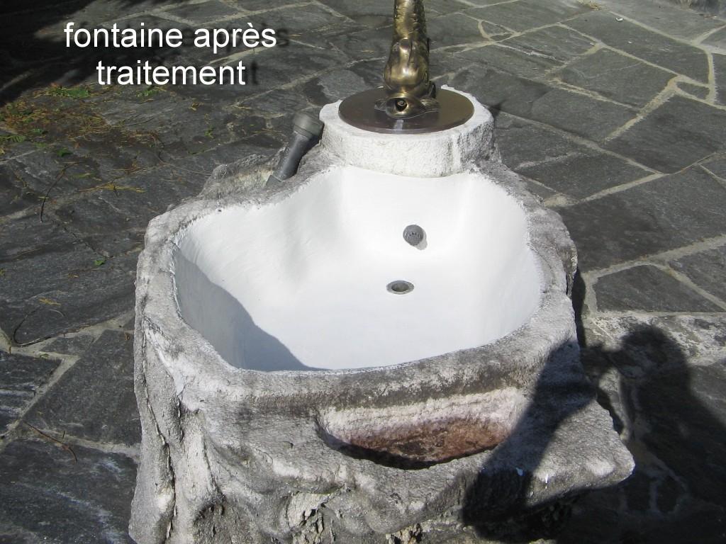 Fontaine après