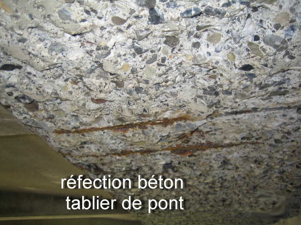 réfection du béton : solutions