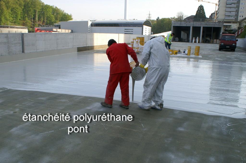 Utilisation de polyuréthane