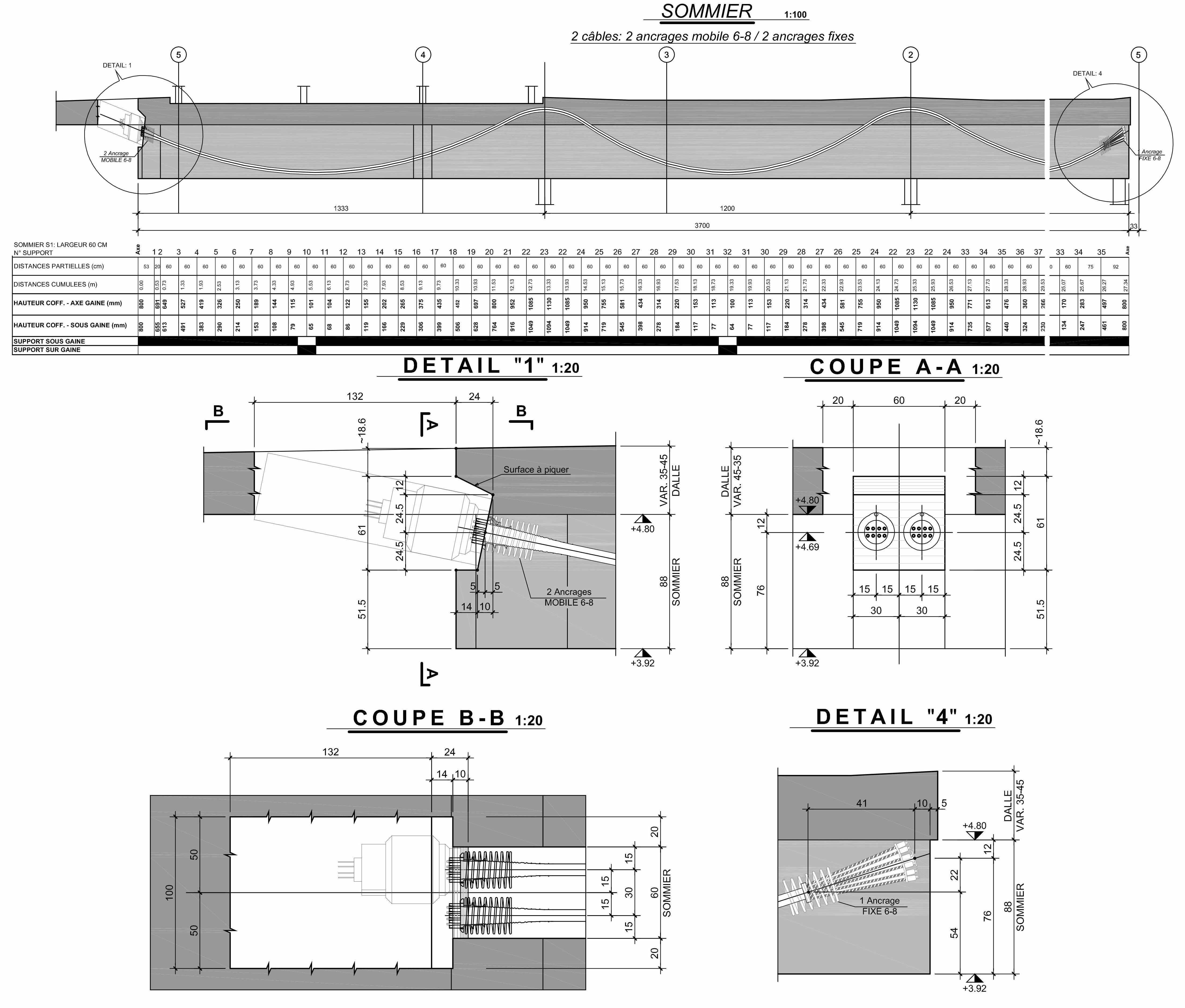 etude de la structure bureau de g nie civil en suisse. Black Bedroom Furniture Sets. Home Design Ideas